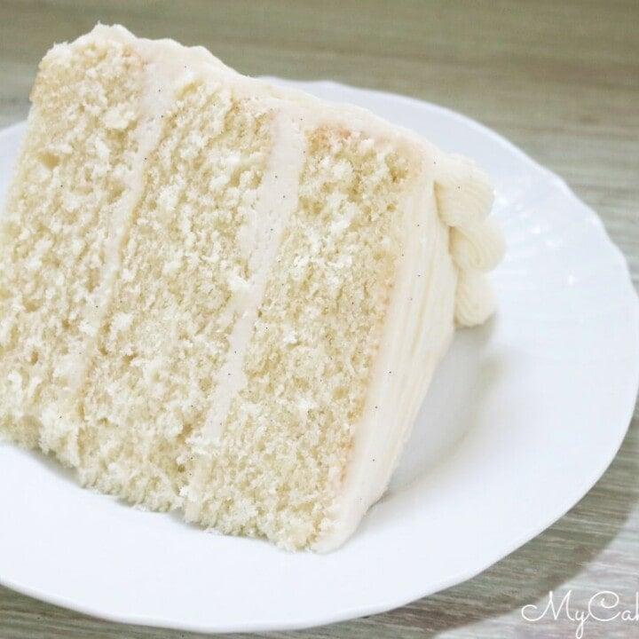 The Best Vanilla Bean Cake Recipe My Cake School