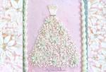 Floral Wedding Dress Cake-Free Cake Video Tutorial
