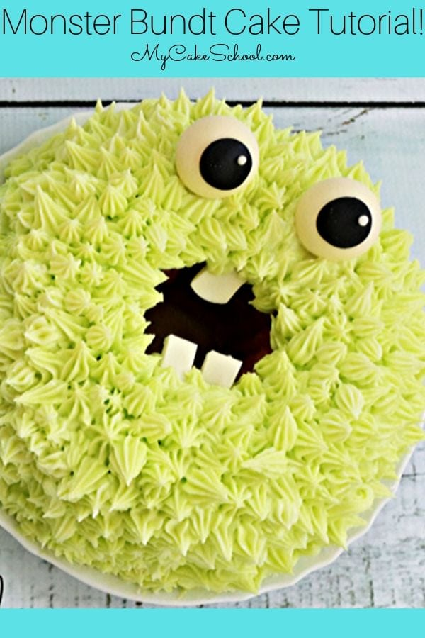 Monster Bundt Cakes- A Free Cake Video Tutorial