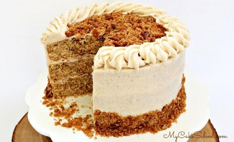 Pecan Spice Layer Cake