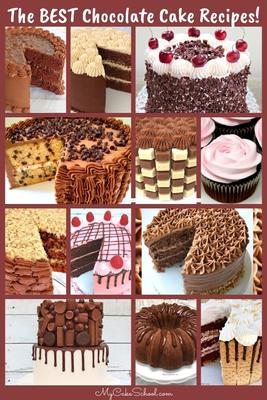 Sharing a roundup of the BEST Chocolate Cake Recipes!