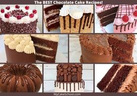 The BEST Chocolate Cake Recipes- A Roundup of our Favorites!