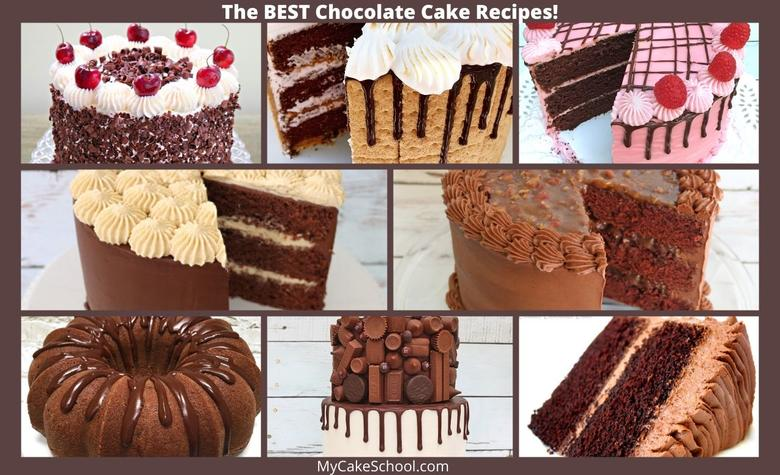 Sharing a Roundup of the BEST Chocolate Cakes!