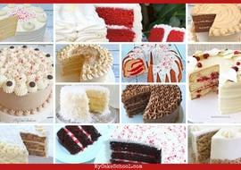 Roundup of the best Christmas and winter Cake Recipes