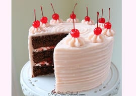 Chocolate Covered Cherry Cake recipe