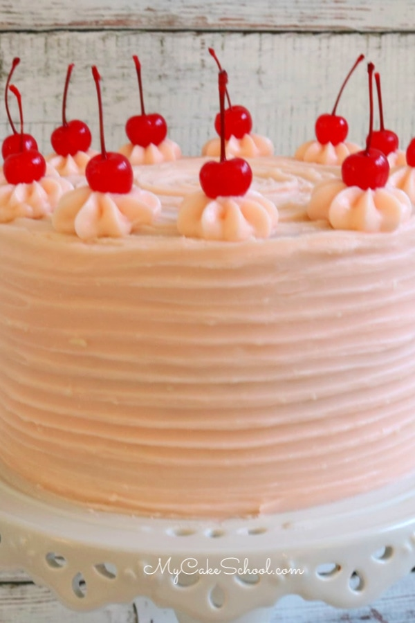 This Delicious Chocolate Covered Cherry Cake Recipe has so much flavor!