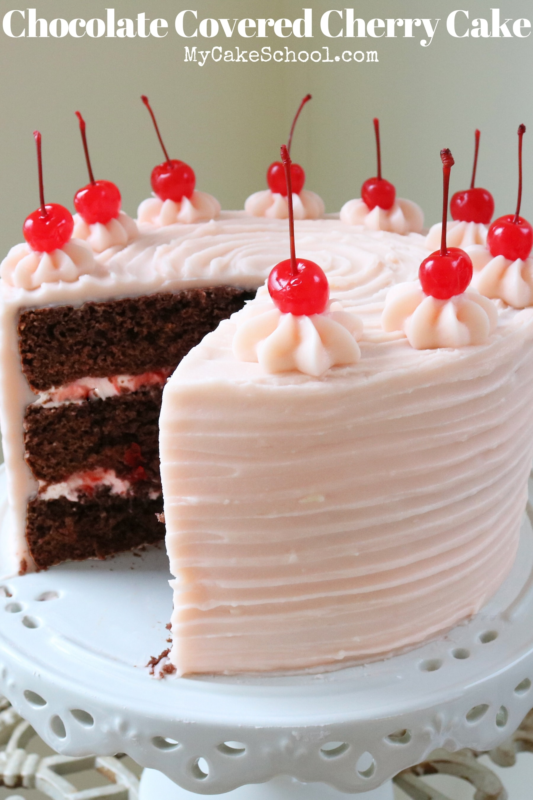 Moist and Delicious Chocolate Covered Cherry Cake Recipe