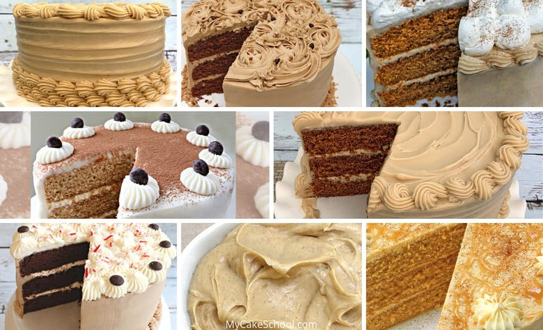 The BEST Coffee Flavored Cakes and Frostings