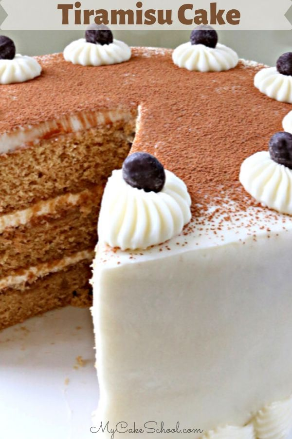 This Scratch Tiramisu Cake Recipe is so moist and delicious!