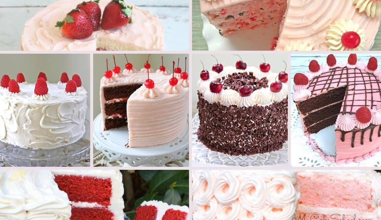 Favorite Valentine's Day Cake Recipes