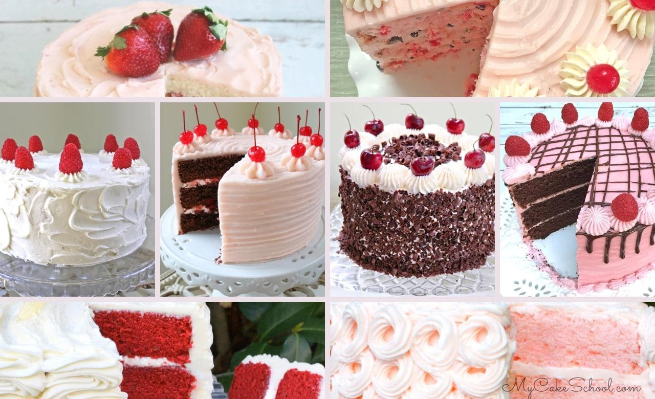 Favorite Valentine's Day Cake Recipes