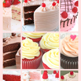 Sharing our Favorite cake and frosting recipes for Valentine's Day!