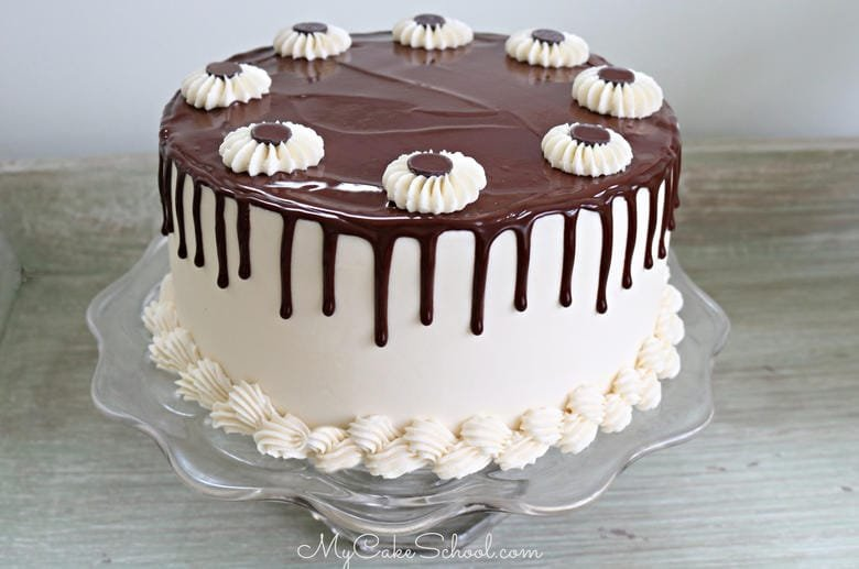 Delicious Baileys Irish Cream Chocolate Cake