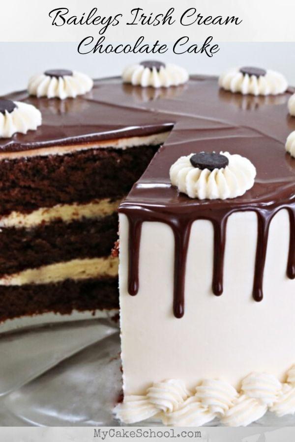 Baileys Irish Cream Chocolate Cake Recipe