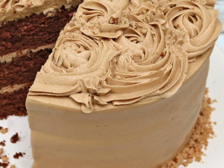 Mocha Buttercream Frosting My Cake School