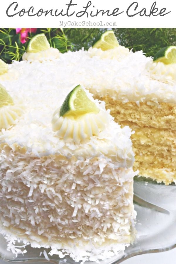 Moist and Flavorful Coconut Lime Cake Recipe