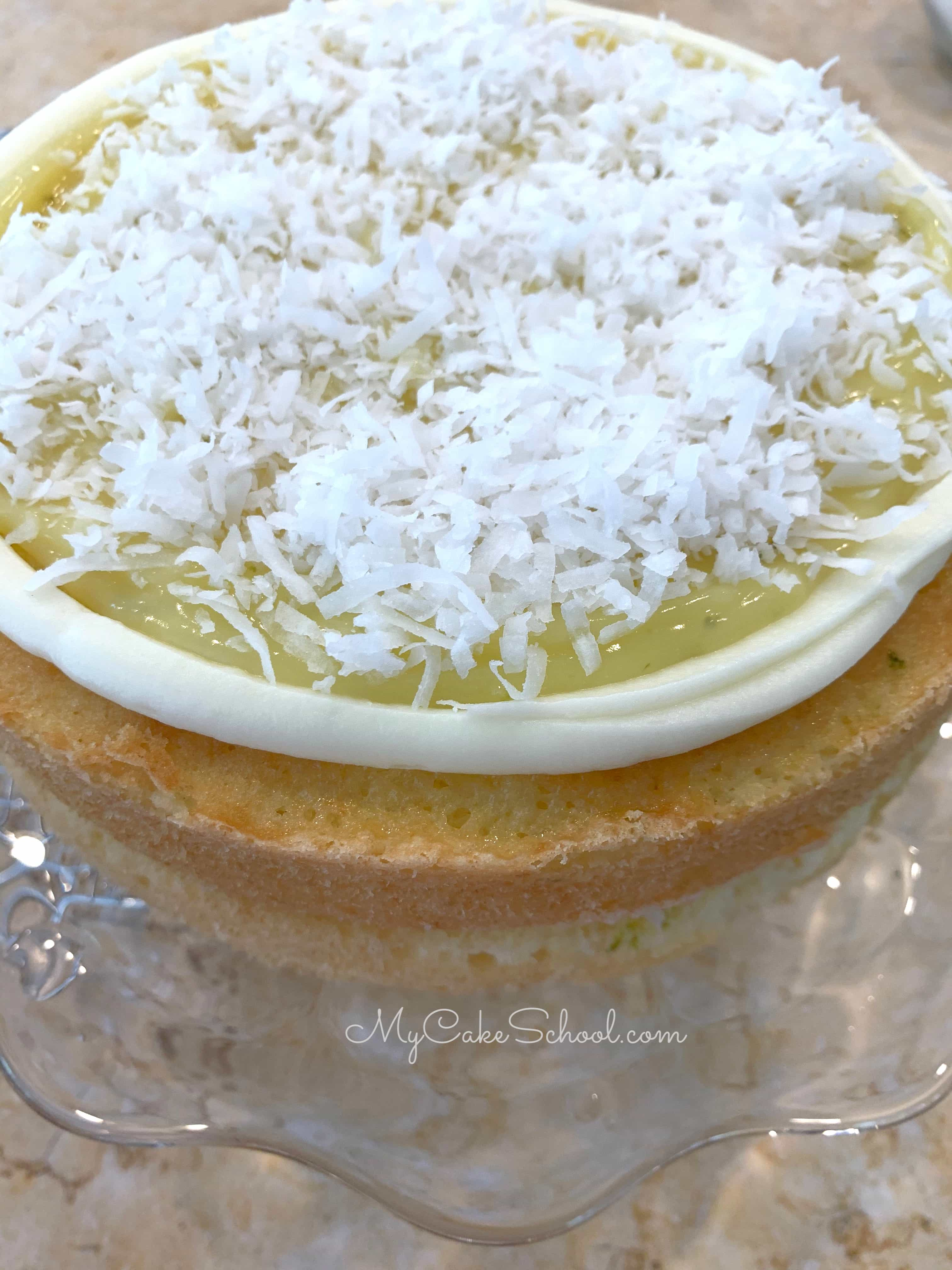 Coconut Lime Cake from Scratch- A Delicious Recipe!