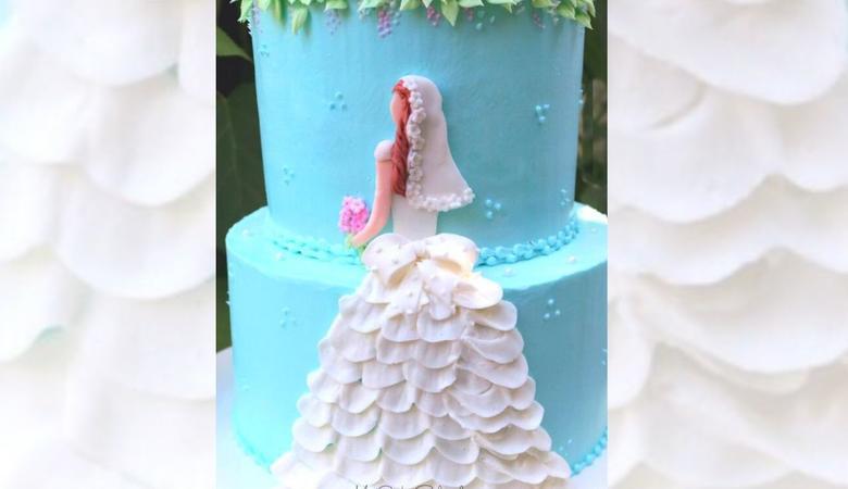 Elegant Bride- A Cake Decorating Video Tutorial