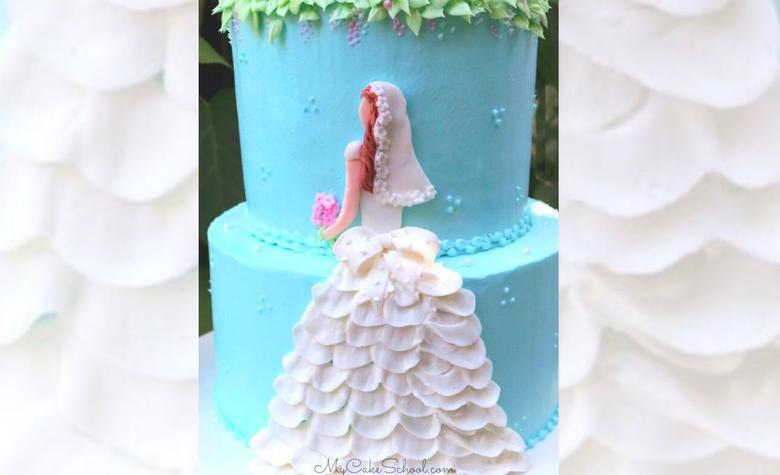 Elegant Bride Cake