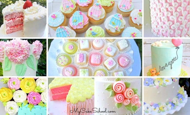 A Roundup of Favorite Mother's Day Cake Designs and Recipes!
