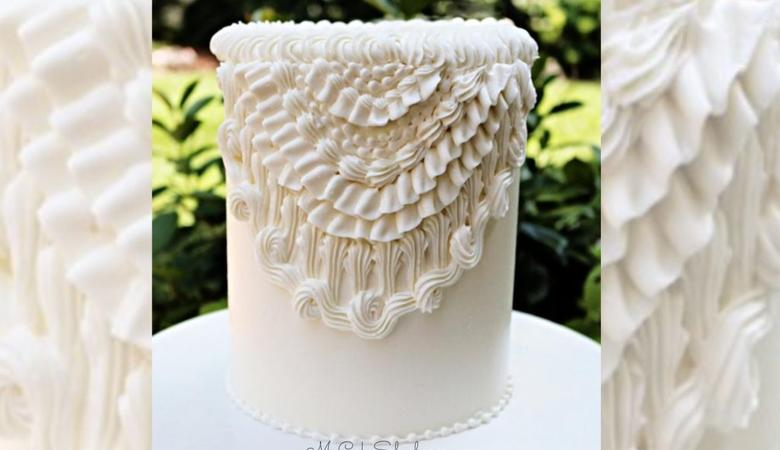 Elegant Vintage Buttercream Piping- A Cake Video Tutorial