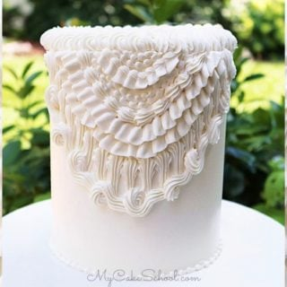 Elegant Vintage Buttercream Piping- A Cake Decorating Tutorial by My Cake School (member section)