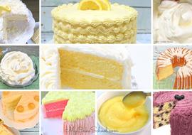 Favorite Lemon Cakes & Frostings!