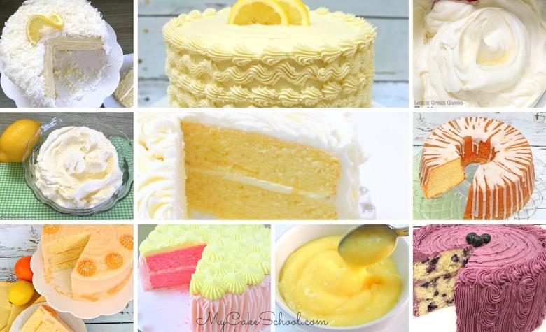 The Best Lemon Cakes, Fillings, and Frostings!