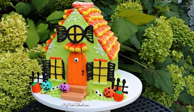 Fun Haunted House Cake – A Cake Video Tutorial