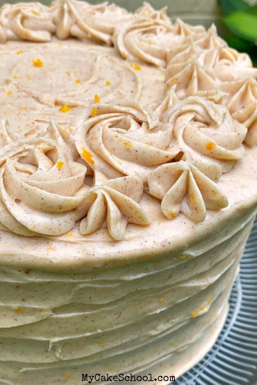 Orange Spice Cake-Doctored Cake Mix