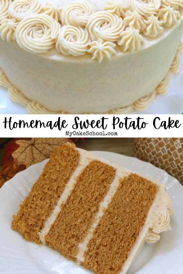 This moist and flavorful Sweet Potato Layer Cake from Scratch is perfect for fall!