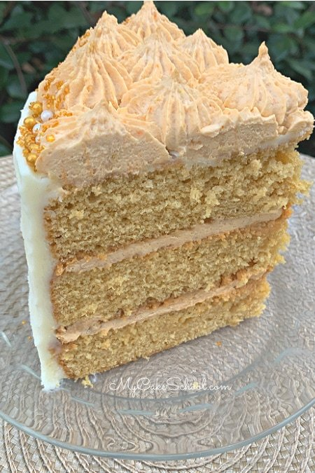 Moist and Delicious Butterscotch Cake