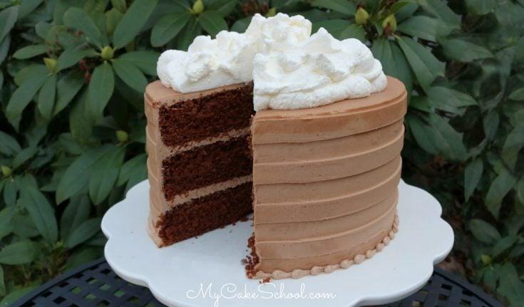 Delicious Hot Chocolate Cake
