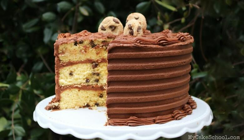 Chocolate Chip Cake (A Cake Mix Recipe)
