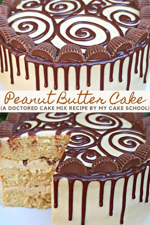Peanut Butter Cake- A Cake Mix Recipe