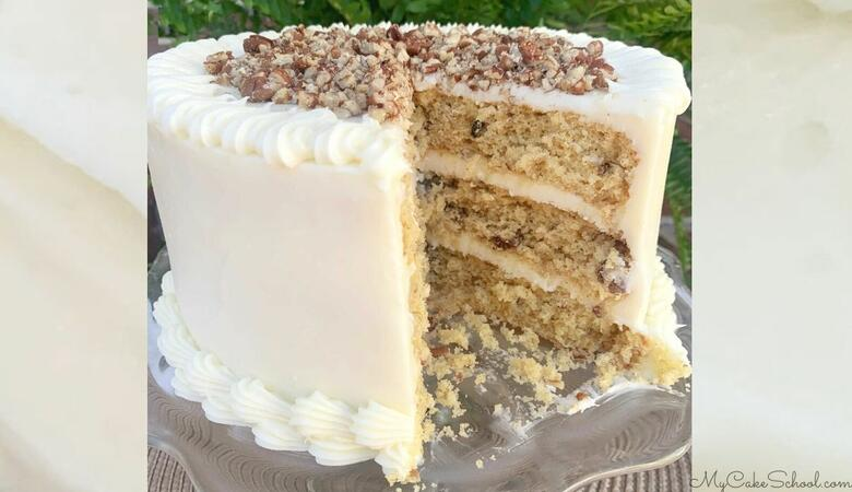 Hummingbird Cake {A Cake Mix Recipe}