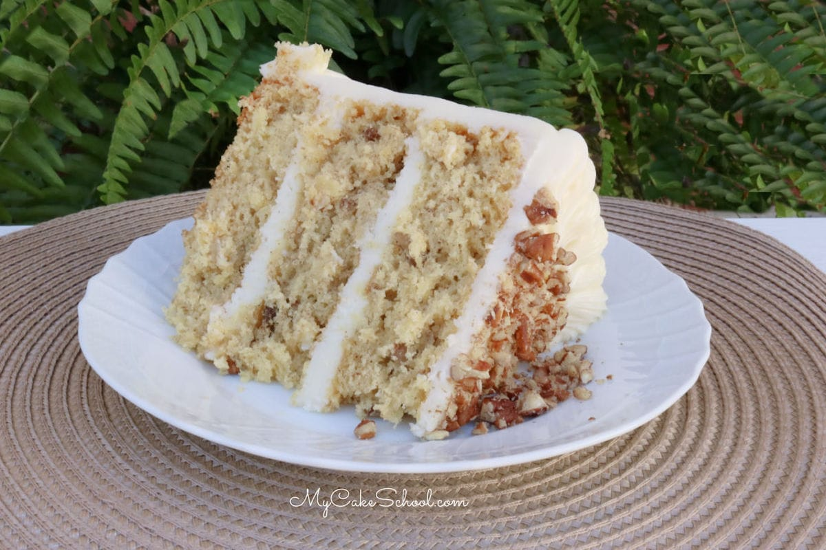 Moist and delicious Hummingbird Cake- Doctored Cake Mix Reccipe
