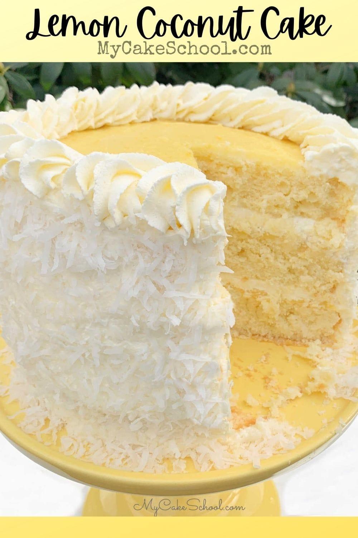 Lemon Coconut Cake Recipe