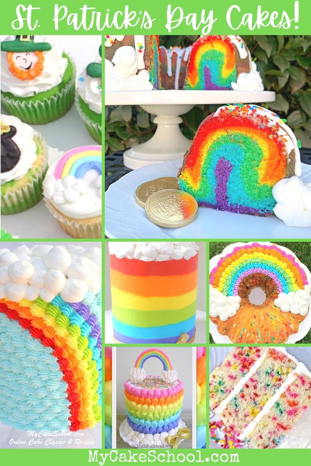 St. Patrick's Day Cakes and Ideas!