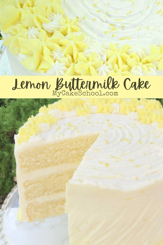 Lemon Buttermilk Cake Recipe