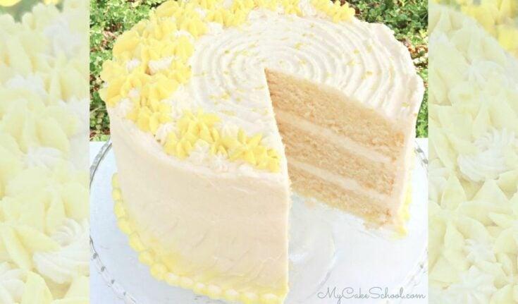 Lemon Buttermilk Cake from Scratch