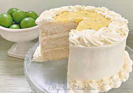 Key Lime Layer Cake- A Cake Mix Recipe