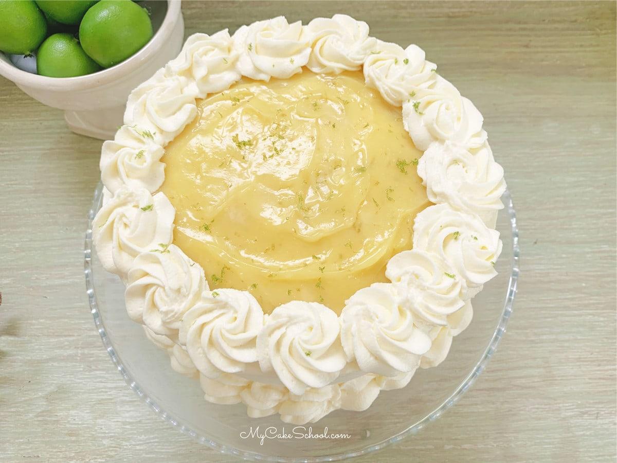 Key Lime Cake Recipe- Doctored Cake Mix