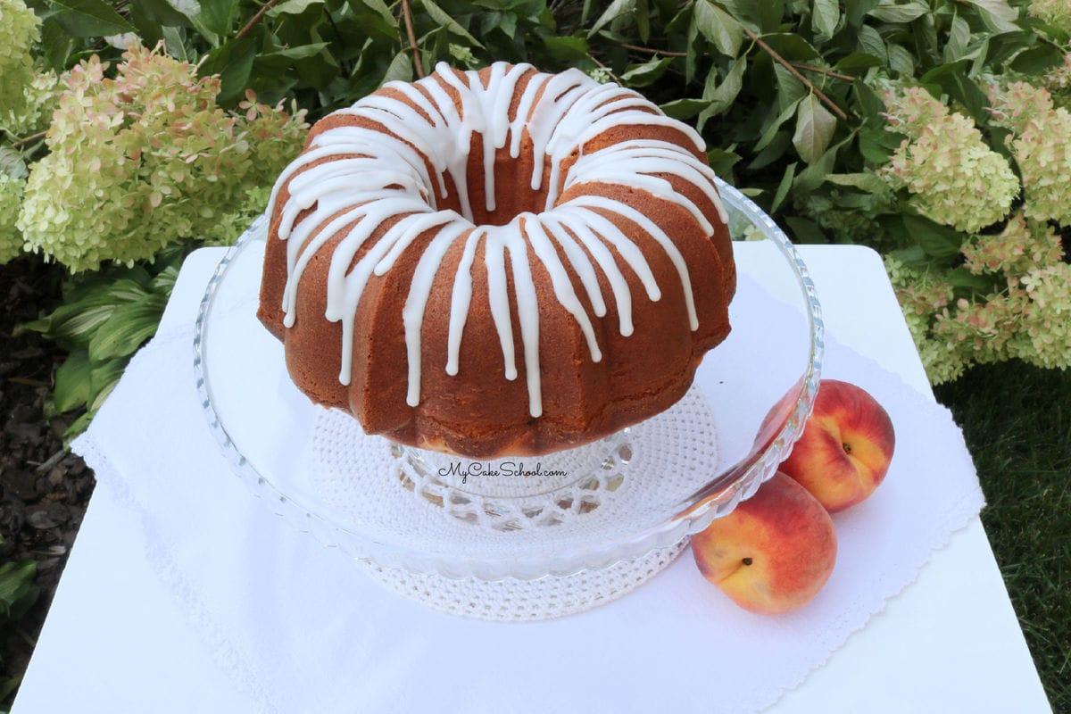 Moist Peach Pound Cake Recipe