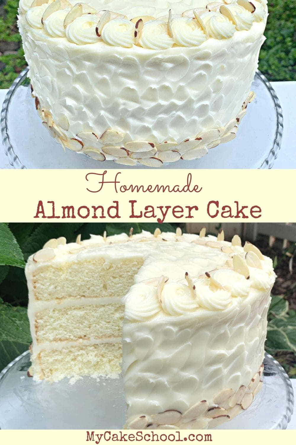 This Almond Cake recipe is the BEST!