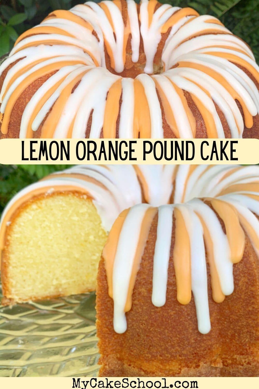 Lemon Orange Pound Cake Recipe