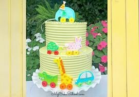 Pull Toy Cake Tutorial