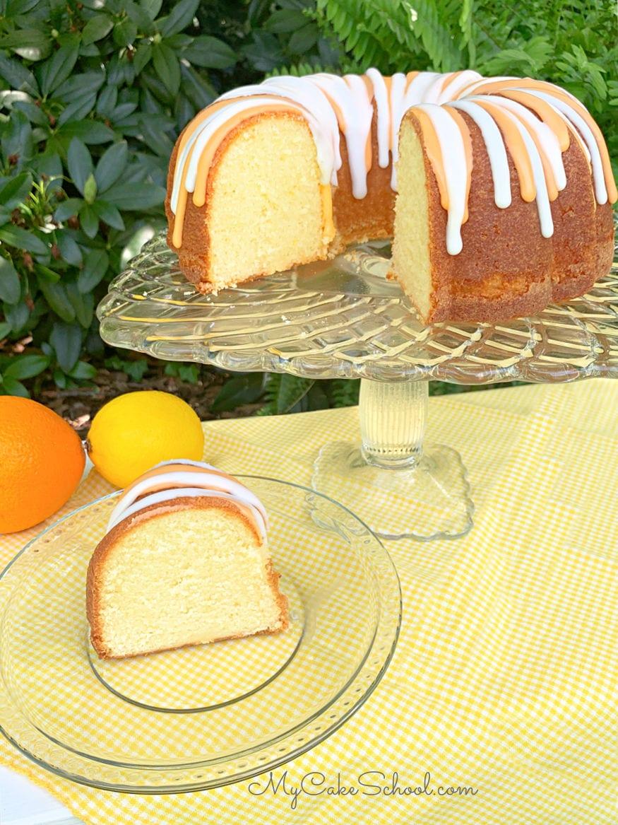 Lemon Orange Pound Cake