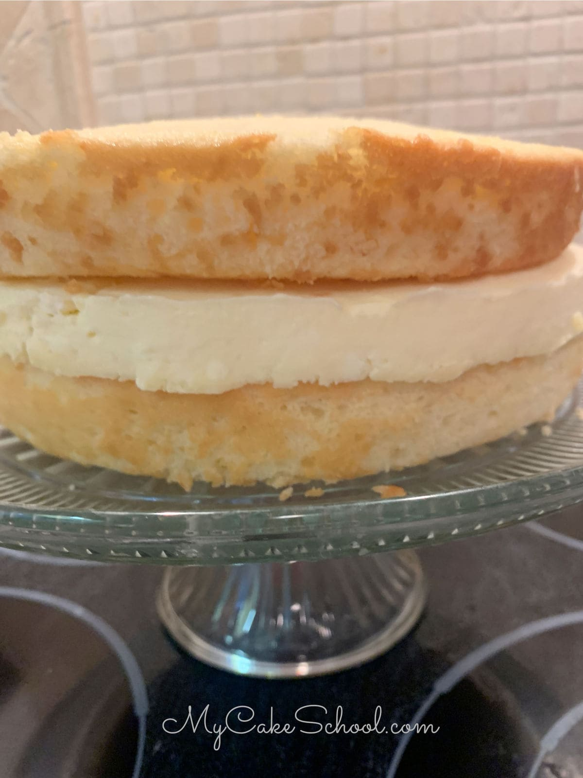 This Lemon Cheesecake Cake is heavenly!