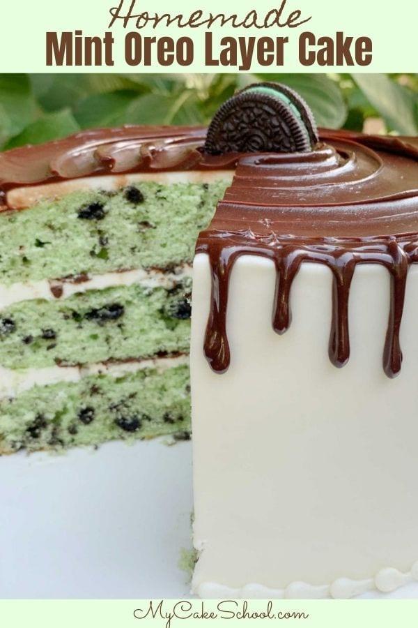 Mint Oreo Cake Recipe